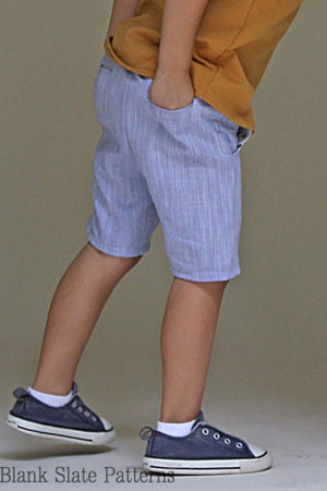 Blank Slate Patterns Clean Slate Pants/Capris/Shorts pdf pattern
