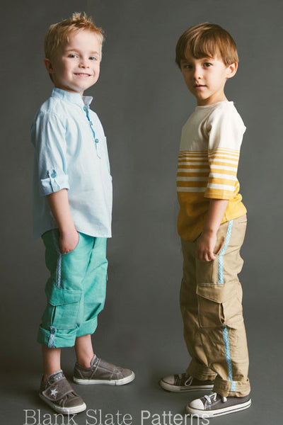 Coastal Cargos pdf sewing pattern from Blank Slate Patterns