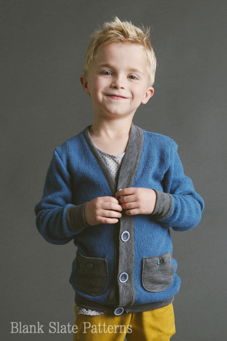 Cool Cardigan pdf sewing pattern from Blank Slate Patterns