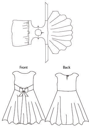 The Amaryllis Dress - 1950s inspired wrap or walkaway dress PDF Sewing Pattern by Blank Slate Patterns