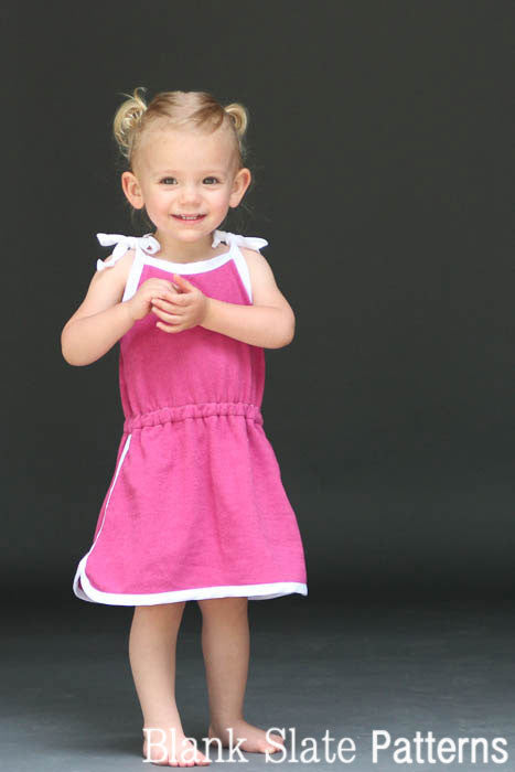 Retro Romper pdf sewing pattern by Blank Slate Patterns