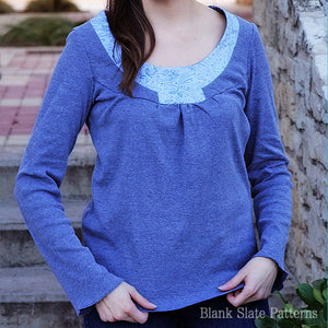 Rose T-Shirt pdf sewing pattern by Blank Slate Patterns