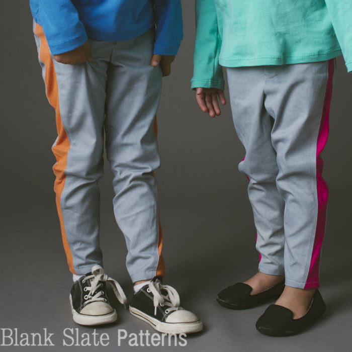 Super Skinny Pants pdf sewing pattern by Blank Slate Patterns