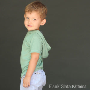 Tee x 3 pdf sewing pattern by Blank Slate Patterns