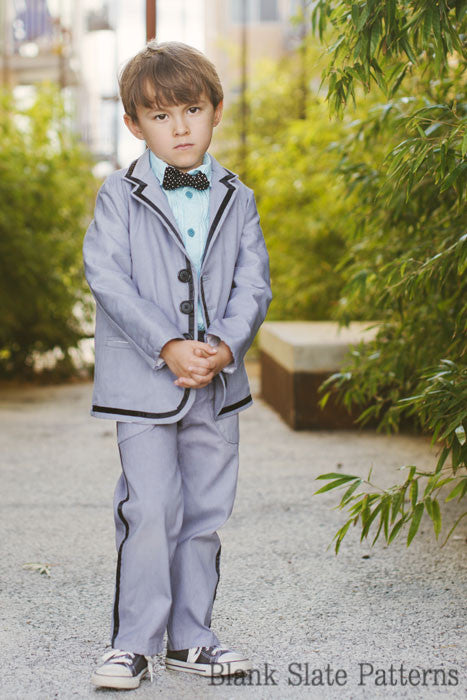 Trendy Tuxedo pdf sewing pattern by Blank Slate Patterns