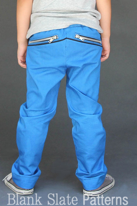 W Pants pdf sewing pattern by Blank Slate Patterns