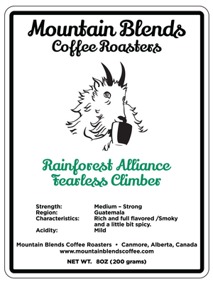 Rainforest Alliance Fearless Climber