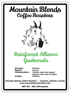 Open image in slideshow, Rainforest Alliance Guatemala - Medium Roast