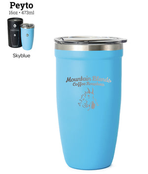 Open image in slideshow, Blends Travel Mug - 16 oz Peyto