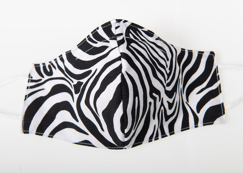 PREMIUM ANIMAL PRINTS FACE COVERINGS SUPER SOFT POPLIN COTTON  REMOVABLE NOSE CLIP ORGANIC COTTON LINING