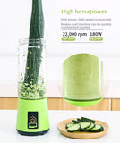 Travel Mini Blender, perfect for camping, BBQ or at home quickly and easily make smoothies with no power cord. Recharge with Solar panels for  Greener drink