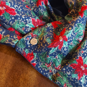Poinsettia Pocket Scarf