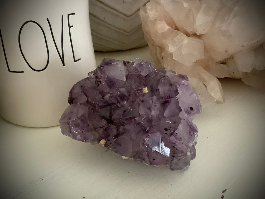 Amethyst Cluster with Inclusions