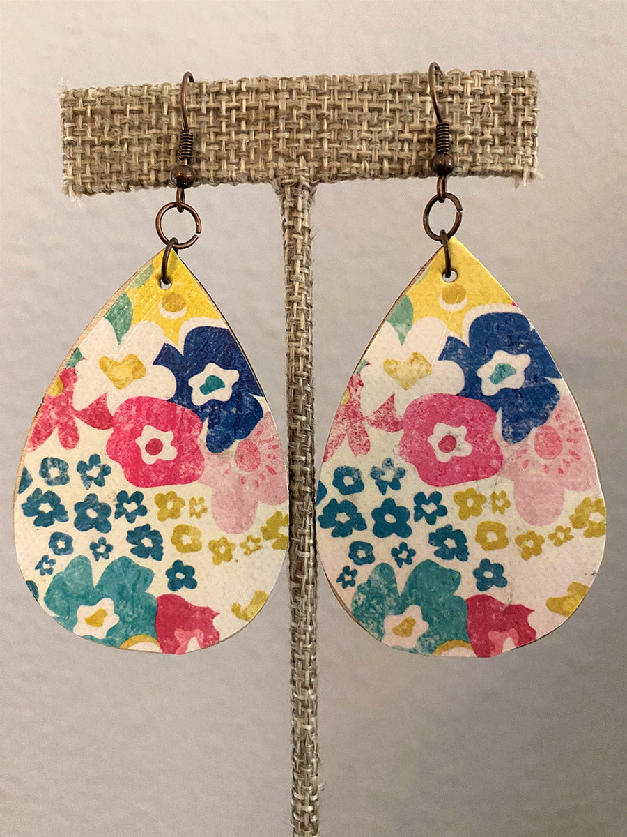 Earrings-Floral