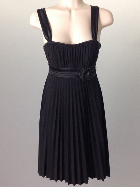 Black Sexy Dressy Traditional Dress, Size: Small
