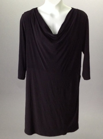 Black Dressy Traditional Dress, Size: 3X-Large