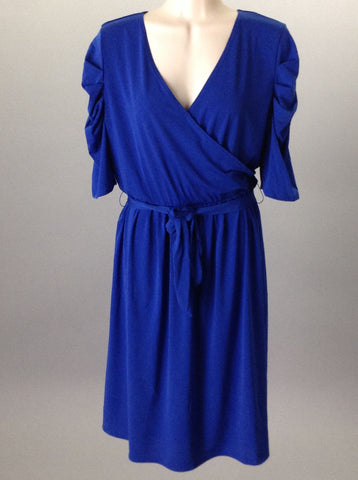 Blue Dressy Traditional Dress, Size: Large