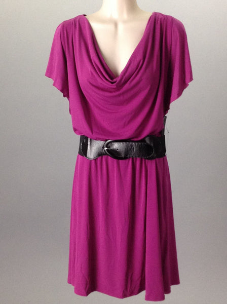Purple Dressy Traditional Dress, Size: Large