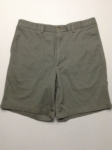 Gray Plain Casual Shorts, Size: 35.0