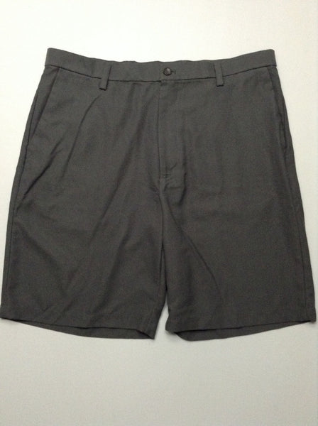 Gray Plain Casual Shorts, Size: 39.0