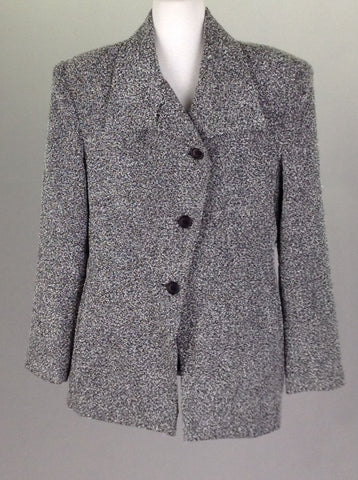 Black Plain Traditional Coat, Size: 10 P