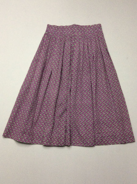 Purple Polka Dot Accordio, Size: 4