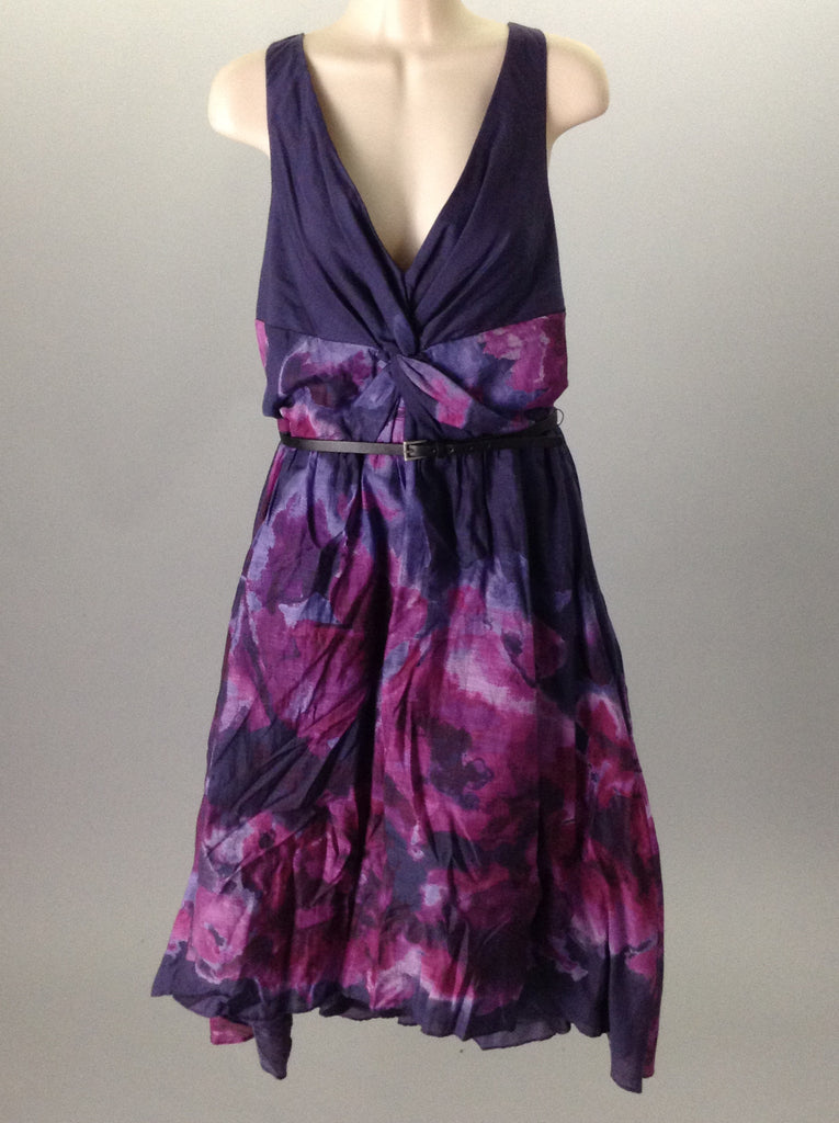 Neiman Marcus Floral Pattern Dressy Cocktail Dress Size: 12 R