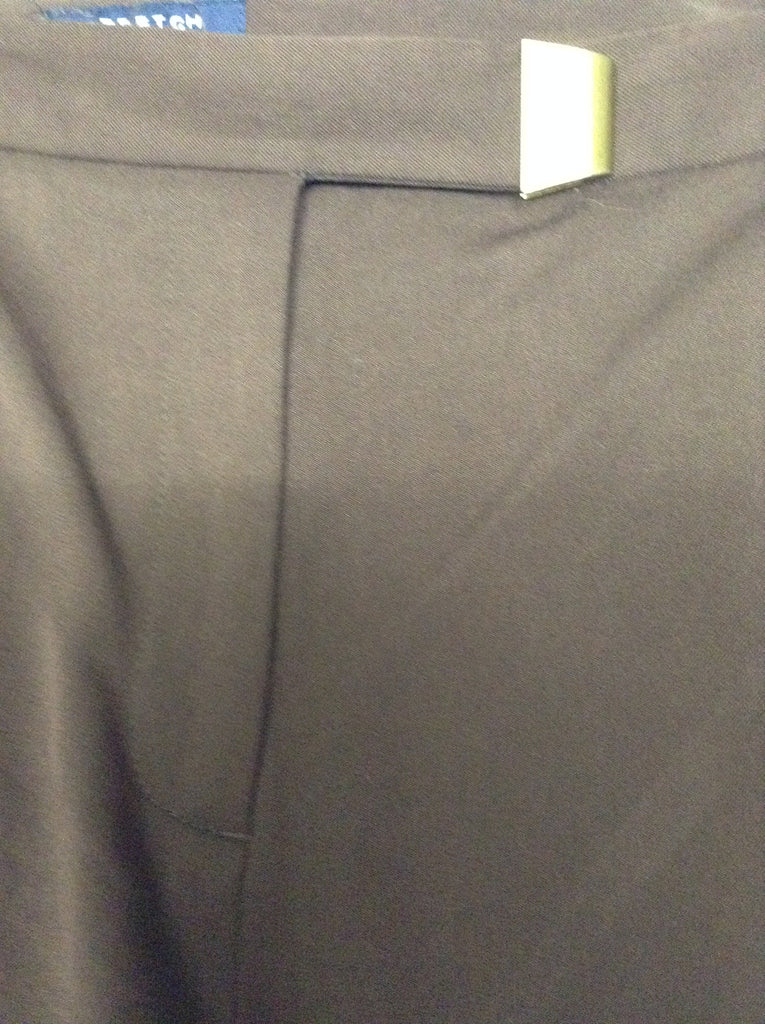 Jones New York Brown 50% Rayon 50% Polyester Plain Dress Pants Size: 16 R