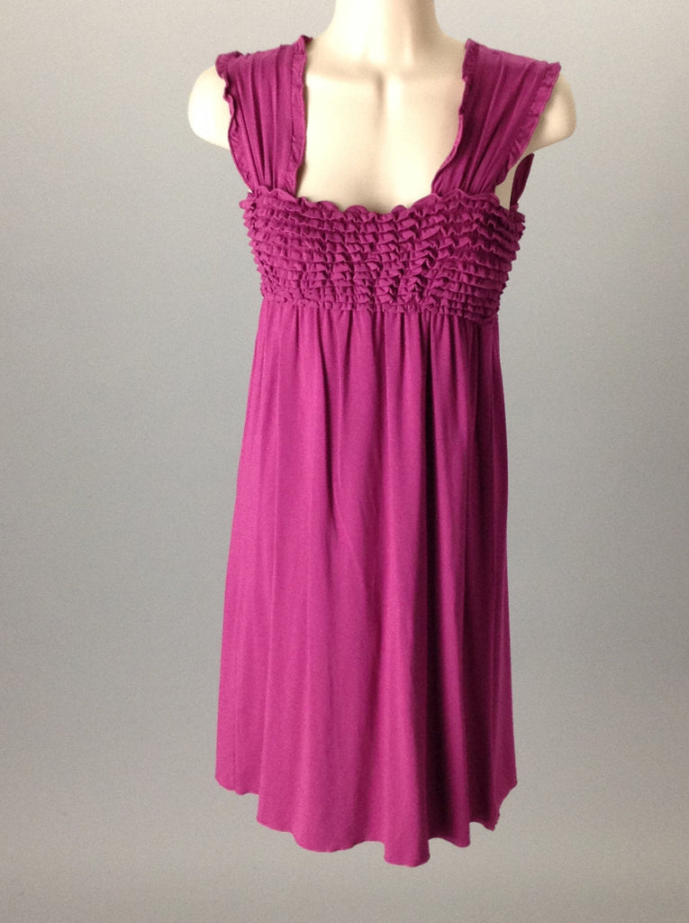 Sophie Max Purple Casual Club Dress Size: X-Small
