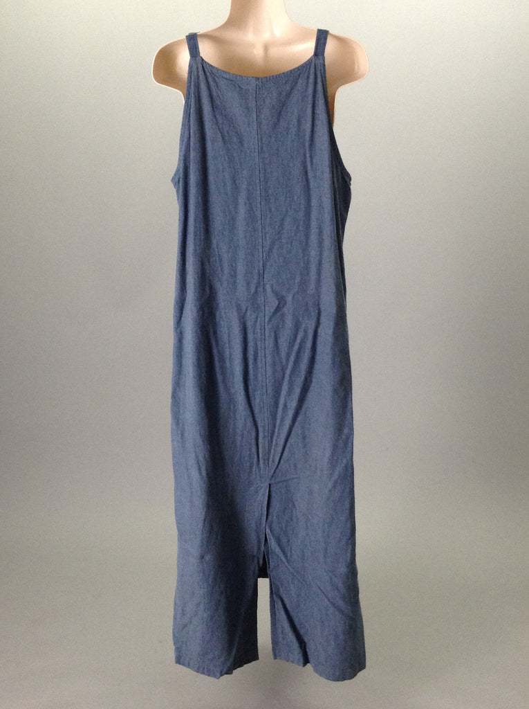ivy Blue 55% Linen 45% Rayon Casual Sun Dress Size: Small