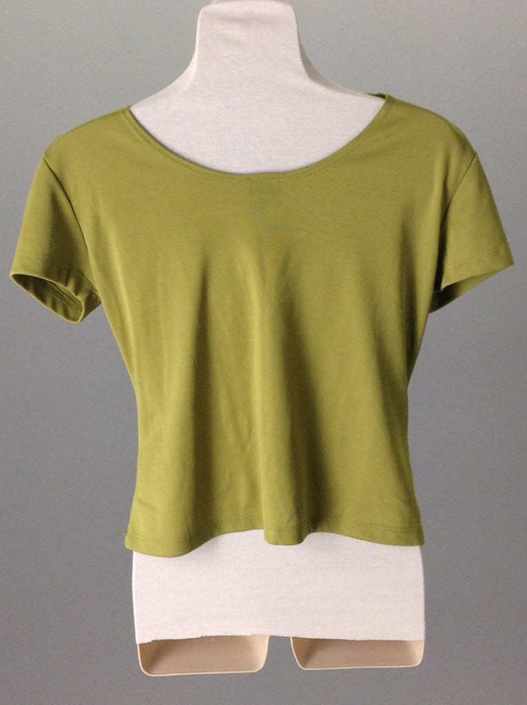 Green 100% Rayon Bright-Vibrant Traditional Blouse, Size: 0