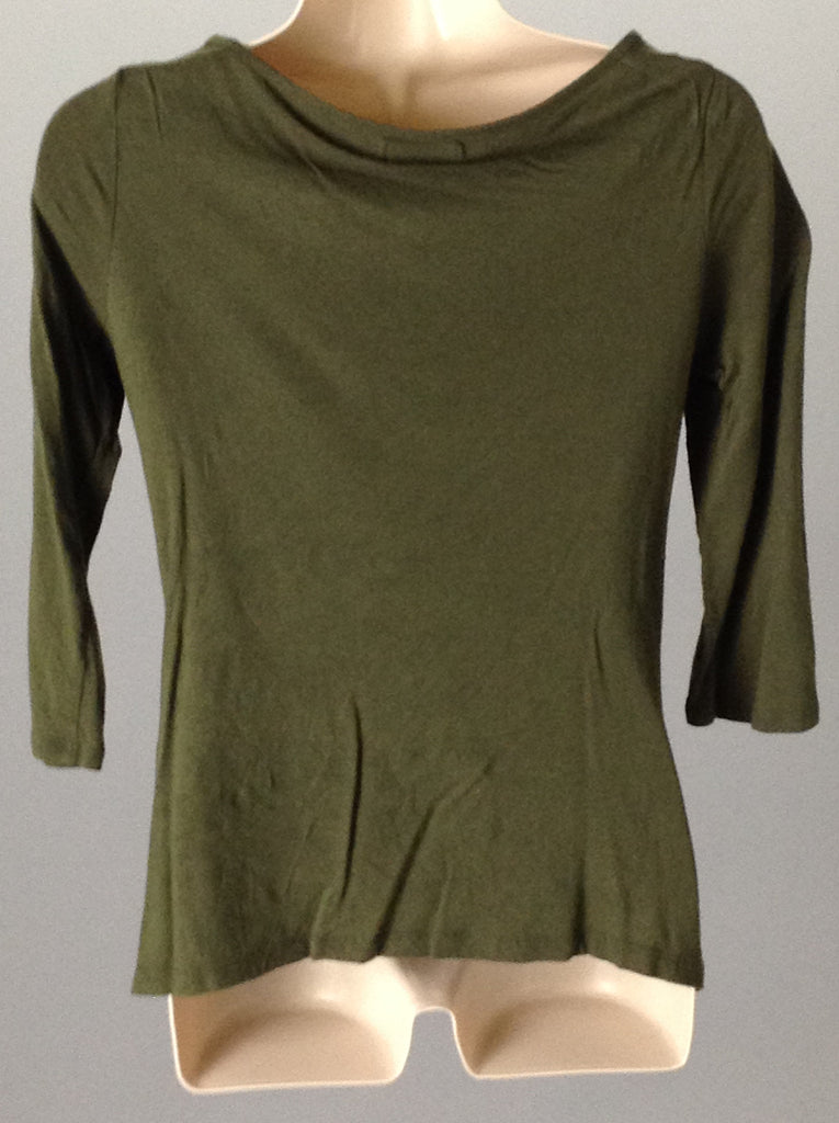 Dellatta Green Sexy Traditional Blouse Size: Small