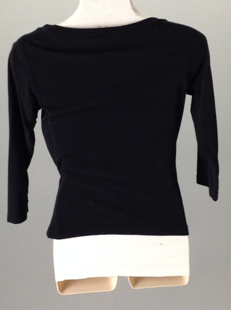 Self Esteem 50% Rayon 50% Polyester Plain Boat Neck Regular Sweater Size: Small