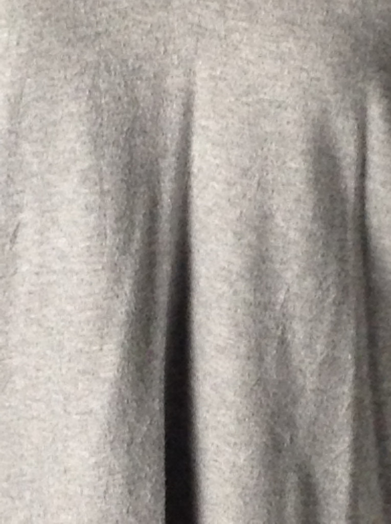 Karen Kane Gray 100% Blended Plain Knit Top Size: Medium