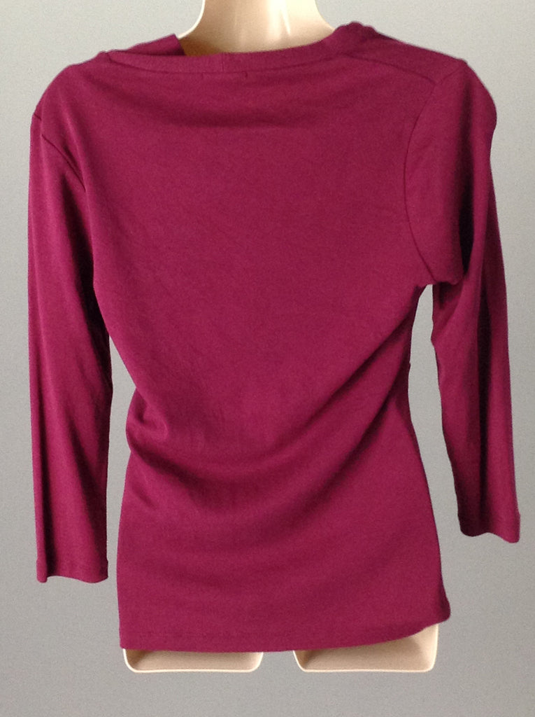 lilla p Red 100% Cotton Sexy Knit Top, Size: Small