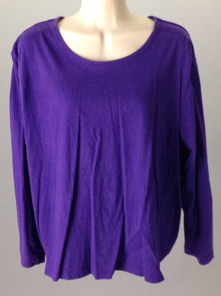 Metropolitan Purple Bright-Vibrant Traditional Blouse