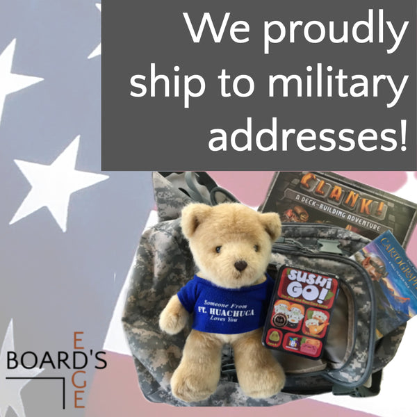 We Proudly Ship to Military Addresses!