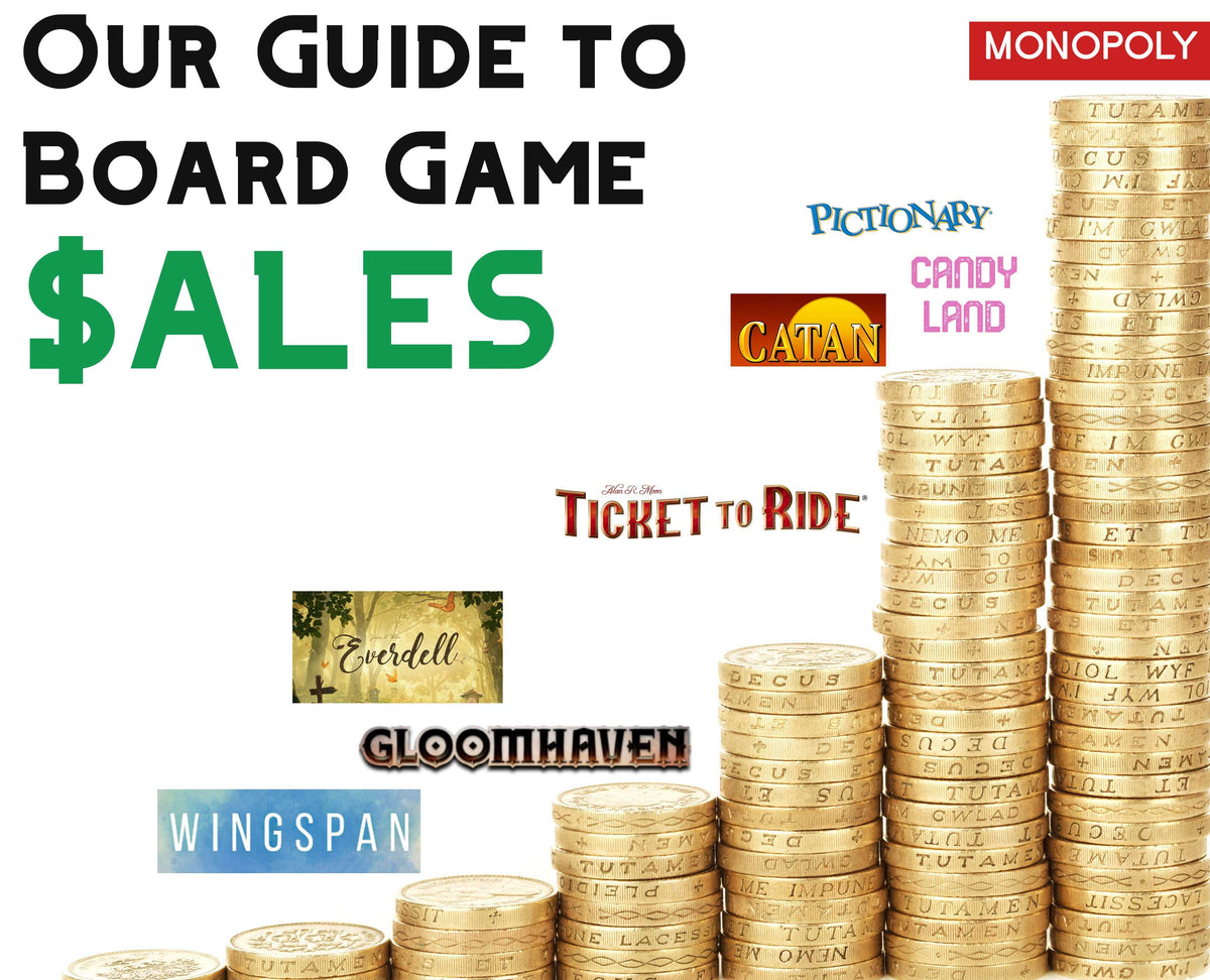 Board's Edge Games Guide to Board Game Sales