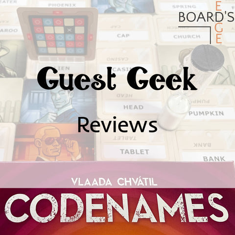 Board's Edge review of Codenames game