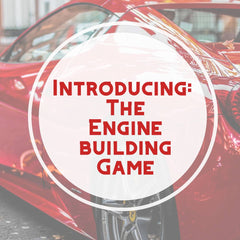 Engine building game intro at Board's Edge