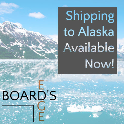 Boards Edge Games ships to Alaska announcement