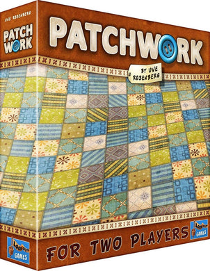 Patchwork board game box