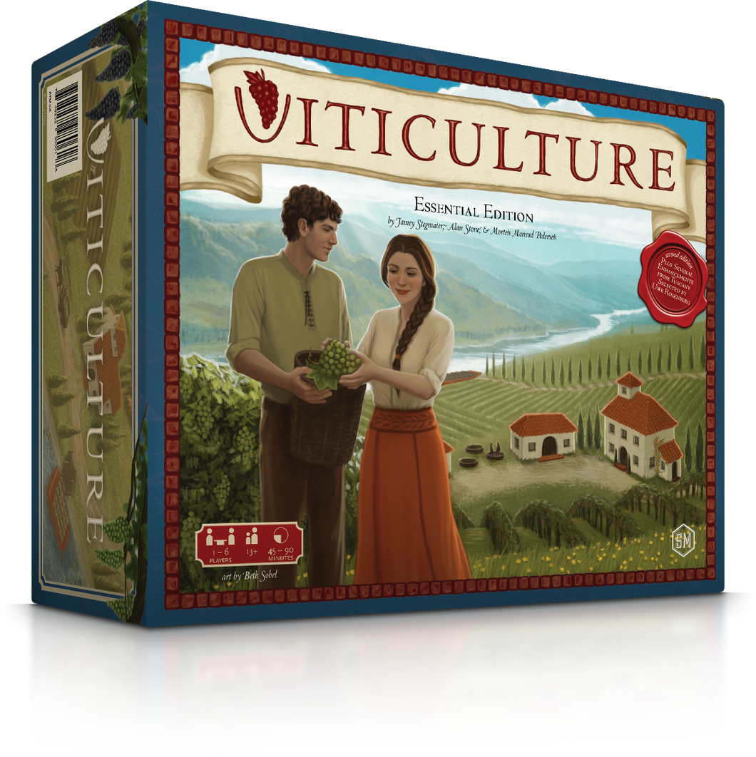 Viticulture game Box top