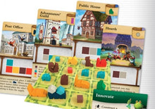 Load image into Gallery viewer, Tiny Towns board game pieces and cards