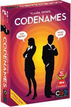 Load image into Gallery viewer, Codenames board game box cover