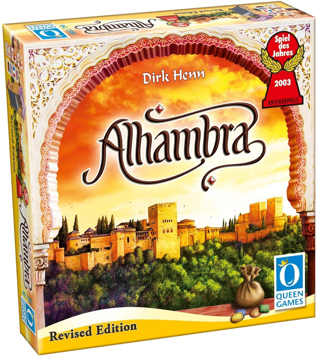 Alhambra board game box cover