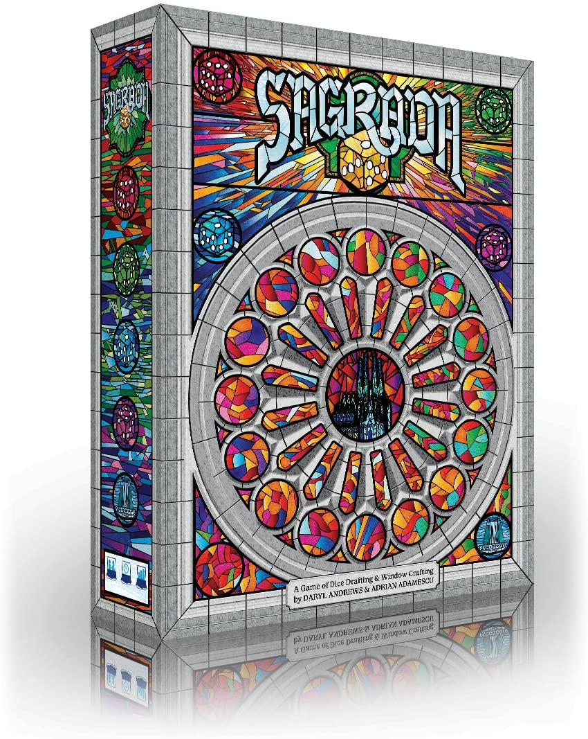 Sagrada board game box cover