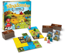 Load image into Gallery viewer, Kingdomino board game components