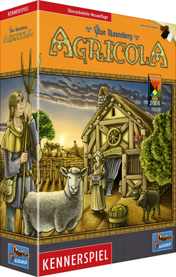 Agricola board game box cover