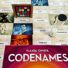 Load image into Gallery viewer, Codenames game pieces
